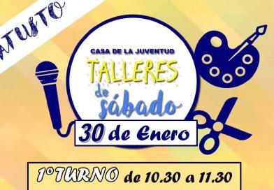 TALLERES DE SÁBADO ¡¡DÍA DE LA PAZ Y NO VIOLENCIA!!
