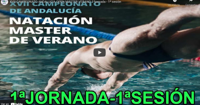 XVII CAMPEONATO ANDALUCÍA OPEN MÁSTER VERANO 1ªjornada – 1ª sesión